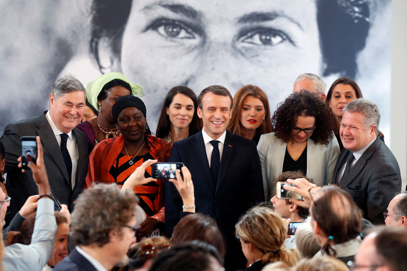L'activiste camerounaise honorée par Macron — Aissa Doumara Ngatansou